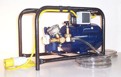 DPC and Woodworm Electrical Pump. For both spraying and injecting.
