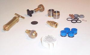 Spare parts service for electrical spraing and injection pumps.