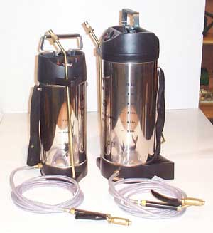Stainless Steel pump up pots, for smart environments, like hotel and restarant kitchens, for pest control.